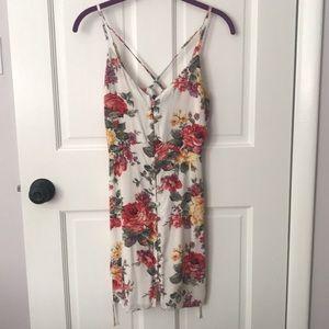 Abercrombie floral dress xs
